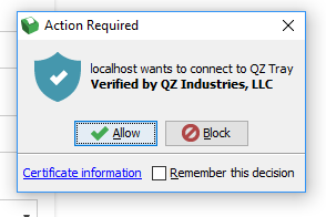 Como instalar o QZ para usar a impressora - Delivre